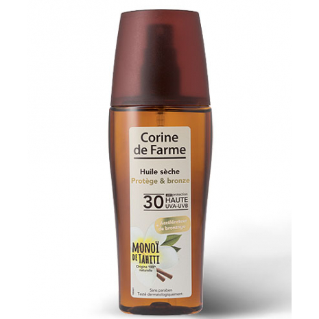 Protect and Tan Oil with tanning accelerator SPF 30 - 150 ml