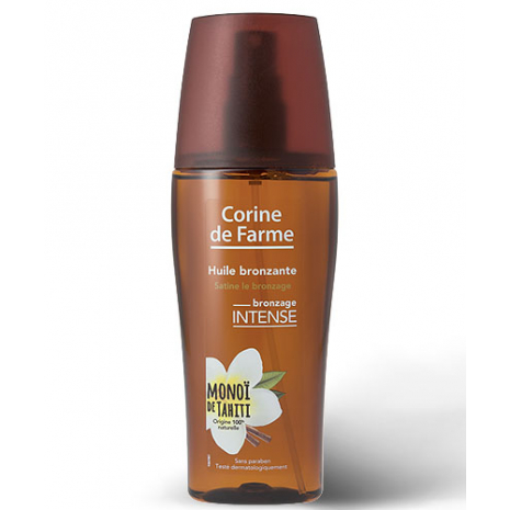 Bronzing oil with Tahitian Monoï non-greasy formula - 150 ml