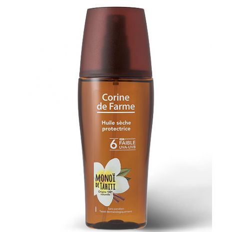 Protective dry oil SPF 6  150 ml