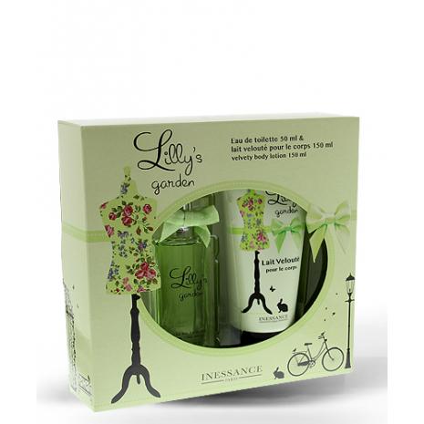Lilly's Garden Perfume 50ml Set and Fragranced Velvety Body Lotion 150ml