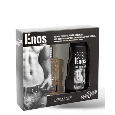 Eros Perfume 100ml Set and Shower Gel 200ml
