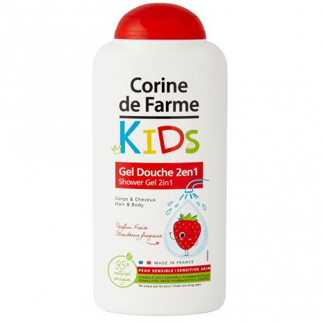 Shower Gel 2in1 Hair & Body Strawberry fragrance
