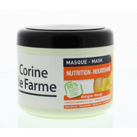 Nutrition Mask with Mango and Coconut Oil for Normal to Dry Hair