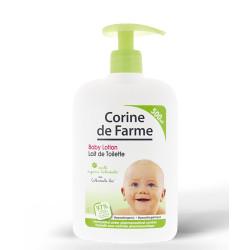 Moisturising baby's face and body lotion with organic calendula 500ml