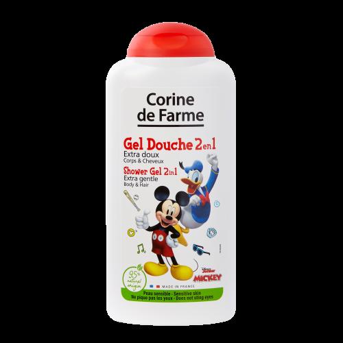 Extra Gentle Shower Gel 2 in 1 Body & Hair Mickey