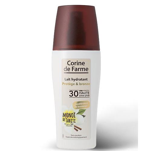 Lait hydratant Protège et Bronze SPF 30 Haute Protection au Monoï de Tahiti 150 ml