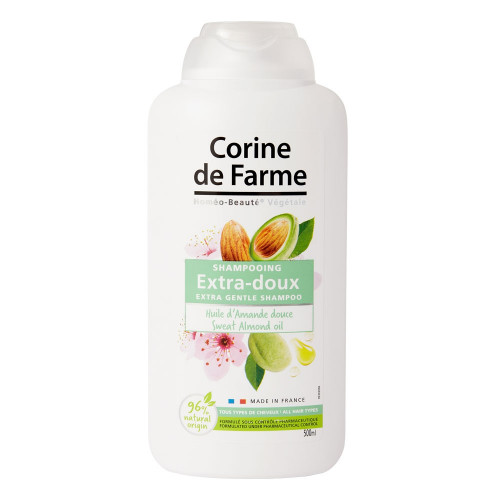 Extra Gentle Shampoo with Sweet Almond Oil* - 500ml